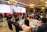 3rd IR Awards Presentation Luncheon with around 250 delegates
